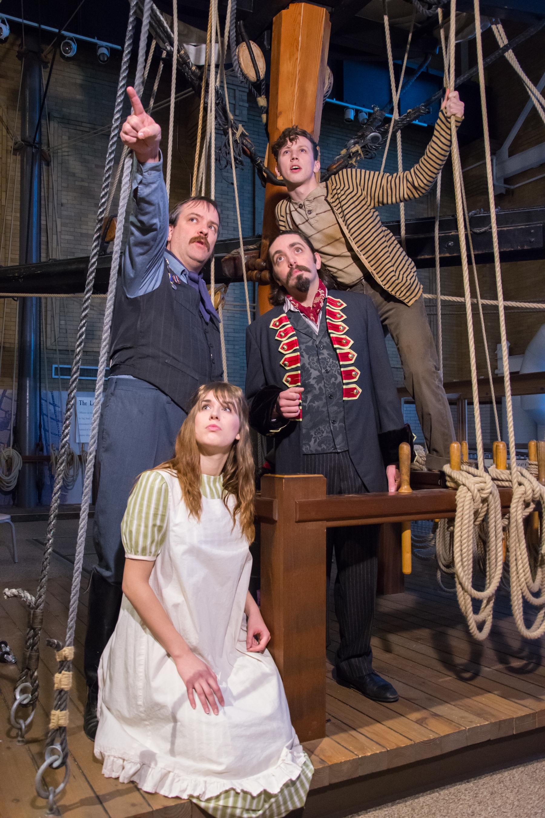 Peter and the Starcatcher' flies onto the Erie Playhouse stage