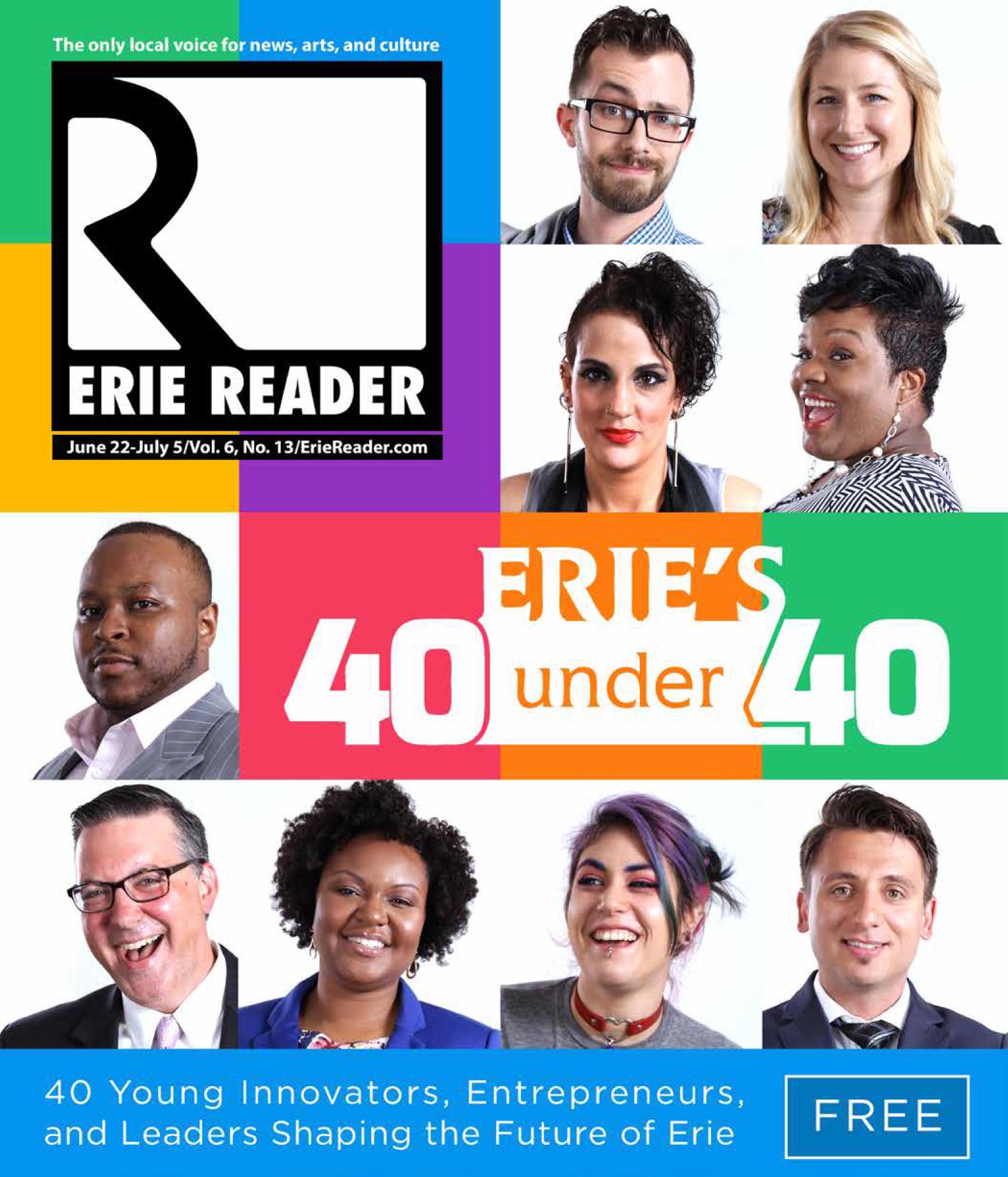Erie's 40 Under 40 - 2016