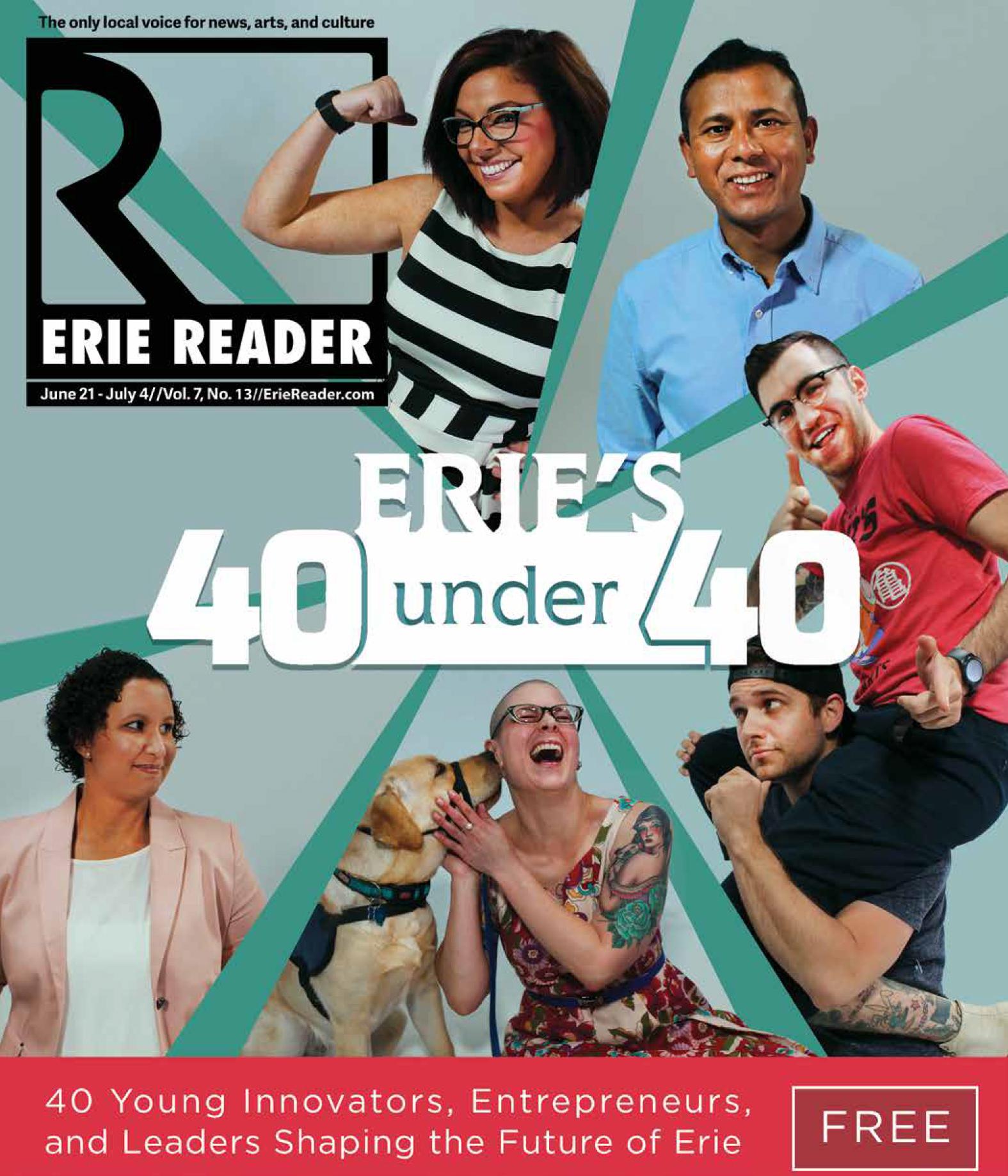 Erie's 40 Under 40 - 2017