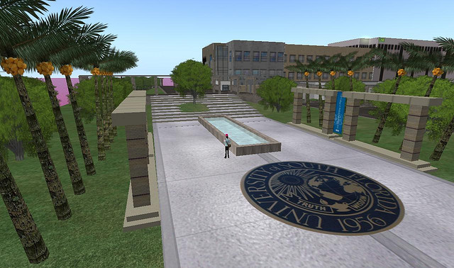 USF in Second Life