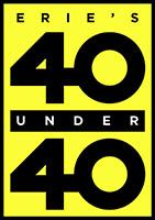 Erie's 40 Under 40 Logo