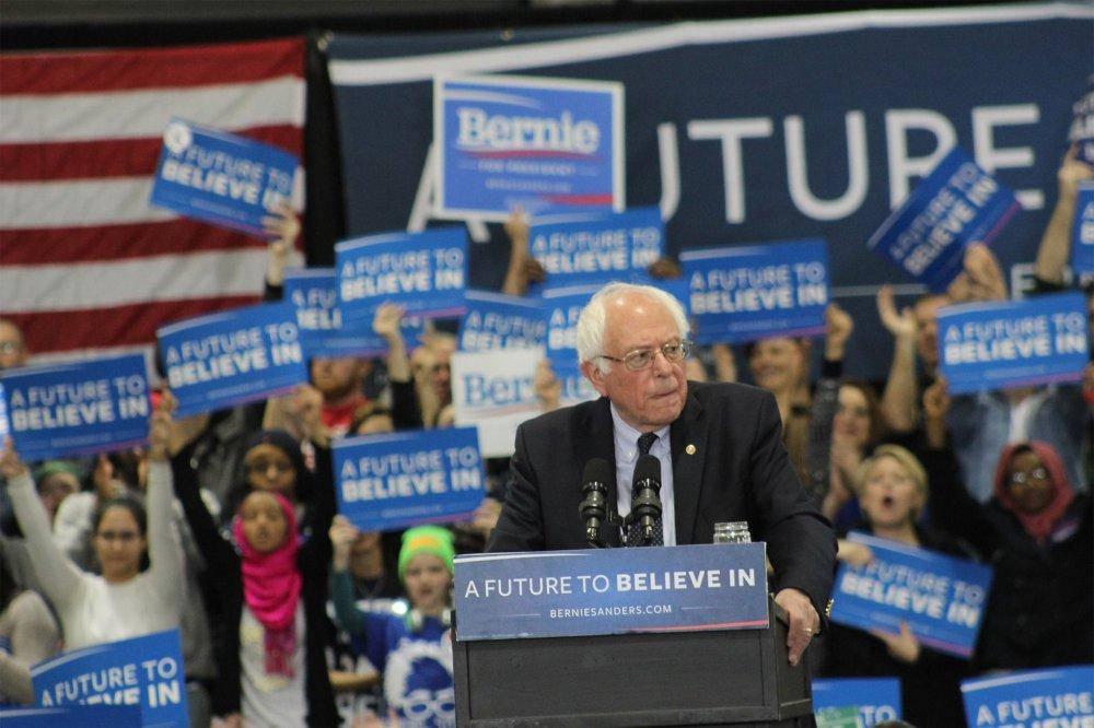 <p>Bernie Sanders Rally April 18, 2016</p>