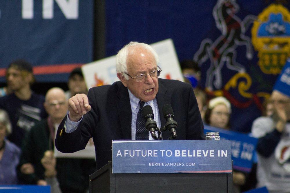 <p>Bernie Sanders Rally April 18.2016</p>