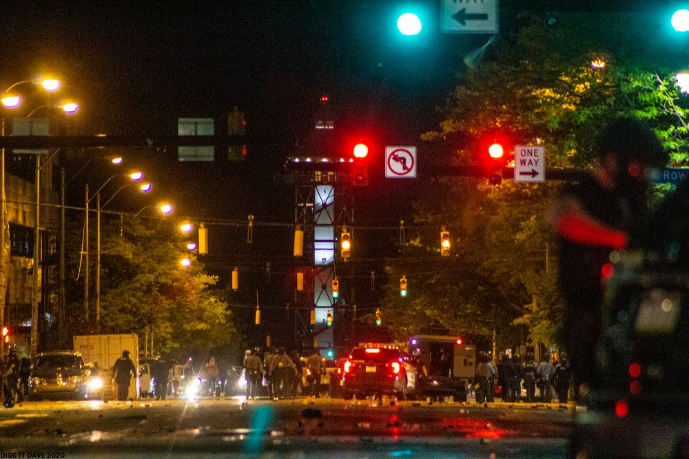 "<p>Downtown Erie: Saturday, May 30, 2020 #GeorgeFloydProtests. Photo by <a href=""http://www.diggitdave.com"" target=""_blank"" rel=""noopener"">Dave Schreoder</a>.</p>"