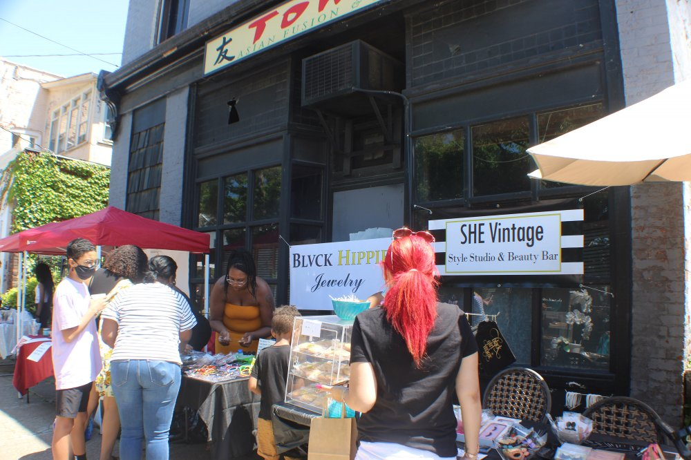 <p>Celebrating Black Business Block Sale Popup, Erie, PA June 19, 2020</p>