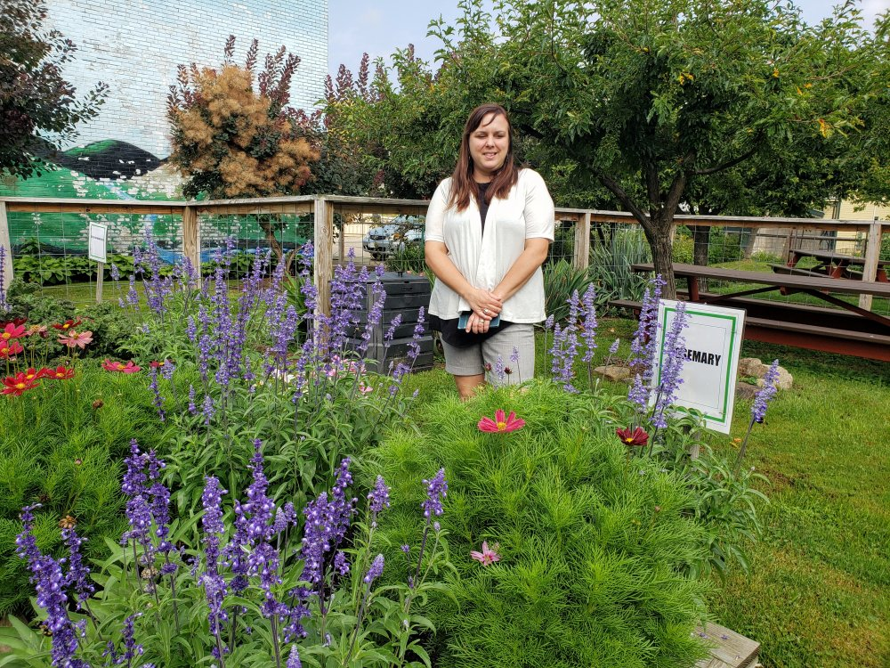 <p>The International Flavors community garden in the 300 block of West 18th Street has lots of fruits and vegetables, as well as vibrant splashes of color from flowers, according to Gretchen Gallagher Durney, neighborhood manager for the Sisters of St. Joseph Neighborhood Network.</p> <p></p>