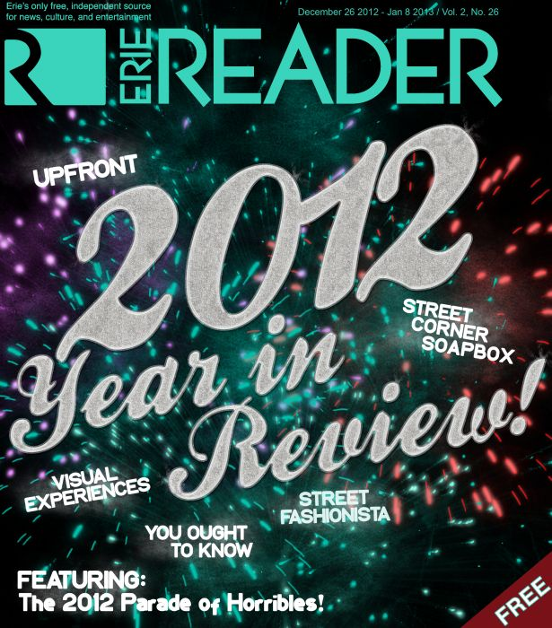 Upfront: The 2012 Year in Review by Cory Vaillancourt