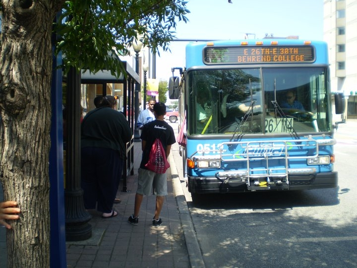 All Aboard Erie Goes Green for a New Bus Charter by Julie Minich