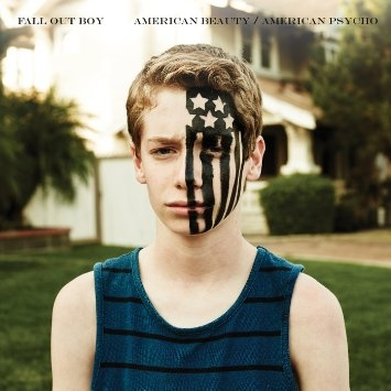 Fall Out Boy American // Beauty/American Psycho by Bryan Toy