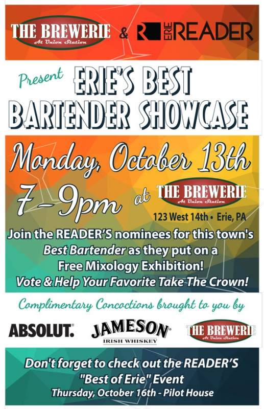 Erie's Best Bartender Showcase by The Editors