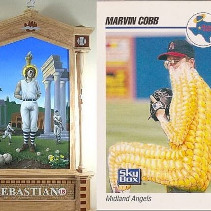 Baseball Cards, Martyrs and Maybe Some Cracker Jacks by Mary Birdsong
