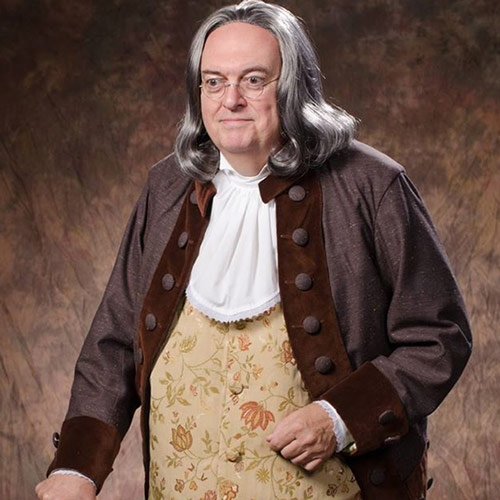 Ray Flynt Brings Ben Franklin to Erie by Tracy Geibel