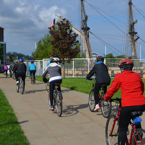 Register Early for Environment Erie's Bike Around the Bay by Angie Jeffery