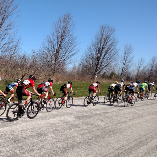The Erie Spring Cycling Series Attracts Racing Riders from the Tri-state Area by Katie Chriest