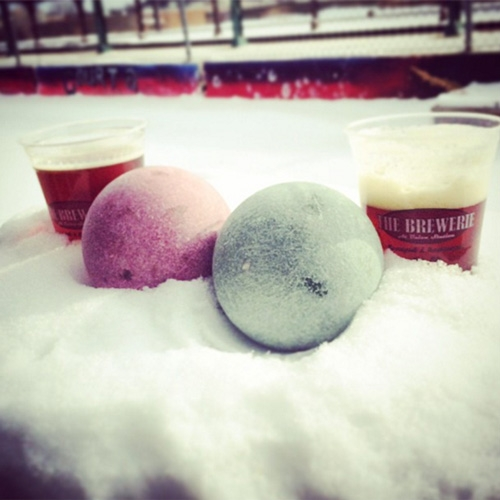 The Bocce Winter Classic Derails the Winter Blahs at the Brewerie by Matt Swanseger