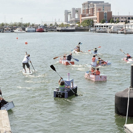7th Annual Cardboard Boat Regatta Set to Sail Saturday, August 20 by Ti Sumner