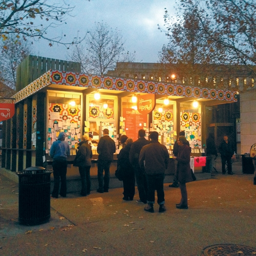 Conflict Kitchen Serves Foreign Policy on the Take-out Menu at Penn State Behrend by Dan Schank
