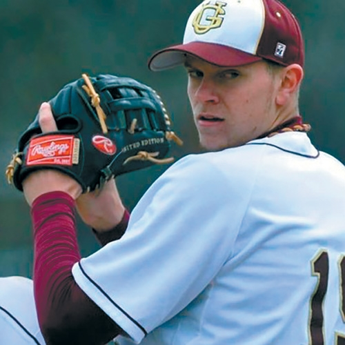 Gannon's Aaron Cox Making the Climb to the MLB by