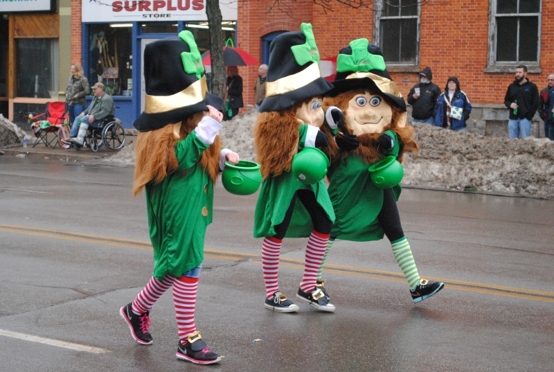 Erie Celebrates St. Patrick's Day by Jim Wertz