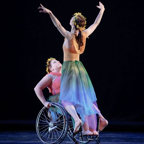Nimble Dancers Spin a Fantasy by Mary Birdsong