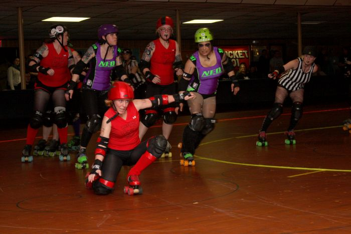 Return of the Roller Girls by Julia Nene