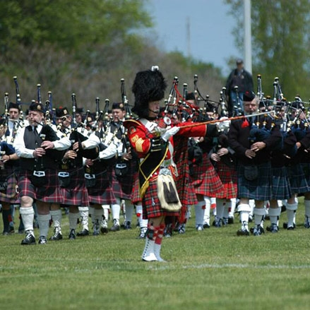 Spectators are Welcome at the 23rd Annual Edinboro Highland Games and Scottish Festival by Tracy Geibel