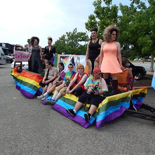 Unite and Celebrate at the 24th Annual Erie Pride Parade and Festival by Miriam Lamey