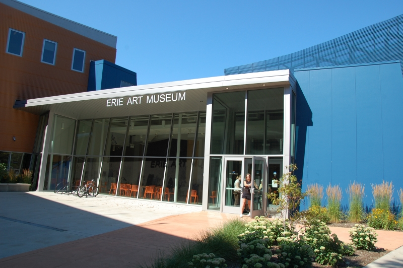 Erie Art Museum Receives City's First LEED Certification by Mike Iverson