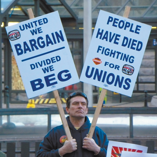 Erie At Large: Fishing for free riders: unions after Friedrichs. by Jim Wertz
