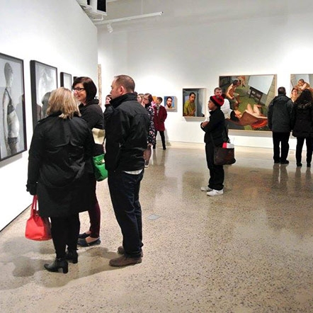 "Erie Art Museum Holds a ""Vibrant"" Gallery Night by Tracy Geibel"