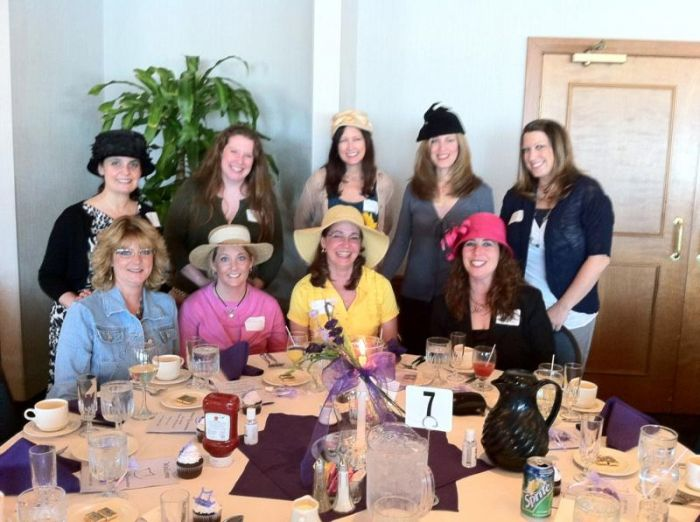 About Town: Women's Hat Brunch by Rebecca Styn