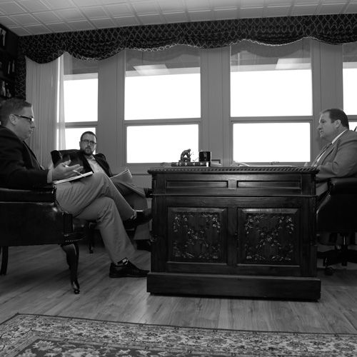 Sitting Down with Mayor Sinnott by Jim Wertz