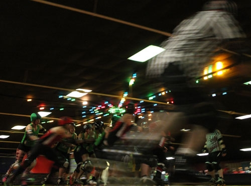 Eerie Roller Girls: The Empowering and Badass Sport of Roller Derby by Ryan Smith