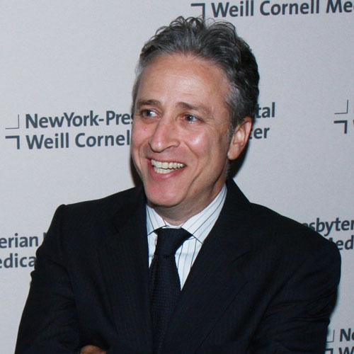 Street Corner Soapbox: Brian Williams and Jon Stewart by Jay Stevens