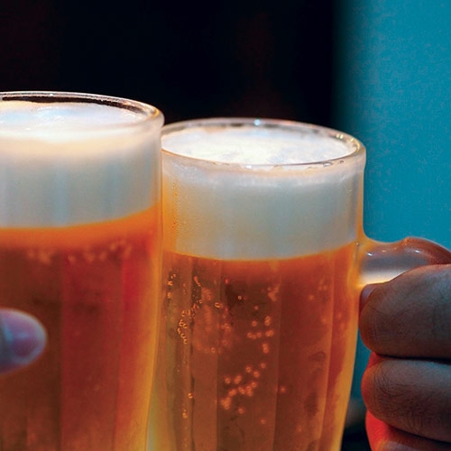 Drink Up at Lager Fest by Miriam Lamey