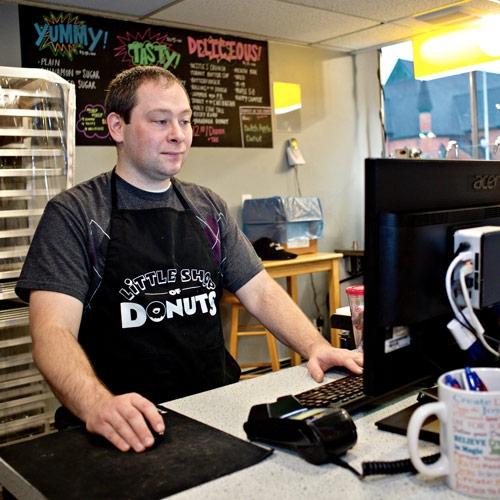Little Shop of Donuts by Matt Swanseger