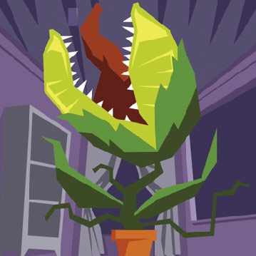 Two Green Thumbs Up for *Little Shop of Horrors by Matt Swanseger