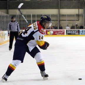 Erie Scores 8 in Victory Over Sarnia by Alex Sibley