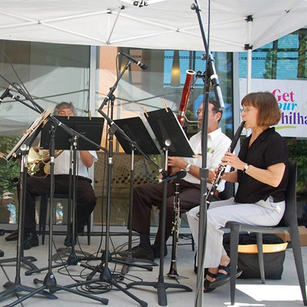 Get Your Phil at Noon with the Erie Philharmonic Wind Quintet by Matt Swanseger