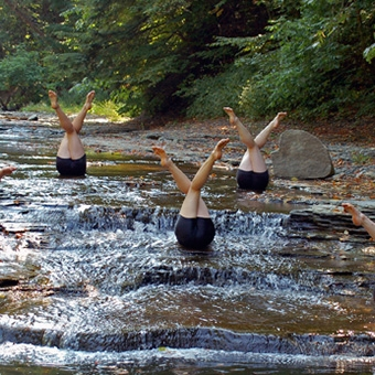 Mercyhurst Dancers Join the National Water Dance with The Ripple Effect by Sara Toth