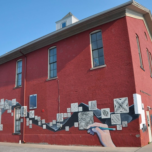 North East Arts Council to Unveil Mindful Mural by B. Toy