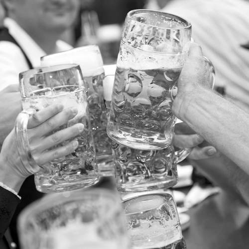 Raise a Glass to Oktoberfest at St. Joseph Church by Alex Bieler