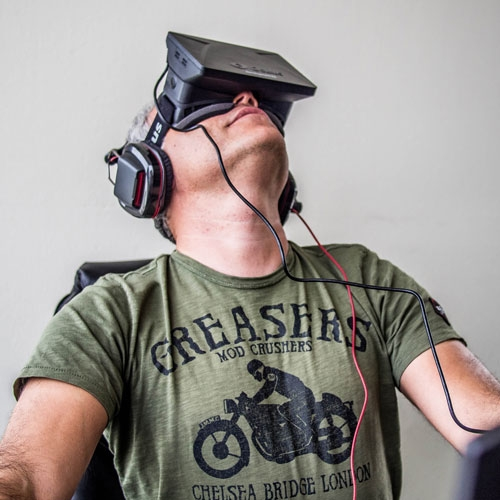 Geeked Out: Waking the Dream -- The Sci-Fi Reality of Oculus Rift by John Lindvay