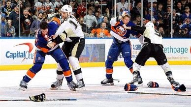 NHL Fails in Aftermath of Penguins-Islanders Brawl by Alex Sibley