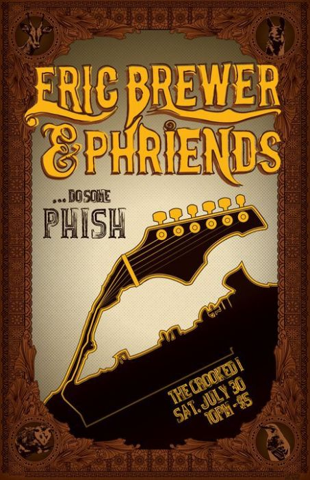 Eric Brewer & Phriends Take the Stage at The crooked i for Phish Tribute by Ryan Bartosek