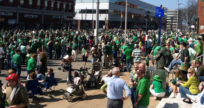 St. Patrick's Day Recap: A Sober Man's Perspective by Alex Bieler