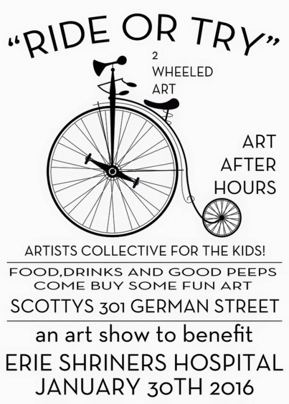 Ride or Try at Art After Hours by Ryan Smith