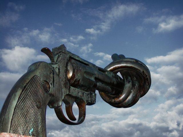 Street Corner Soapbox: Gun Control by Jay Stevens