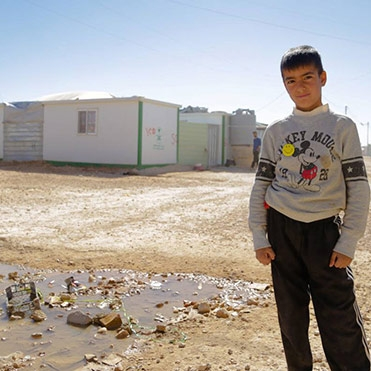 Salam Neighbor Sets Up Shop at a Syrian Refugee Camp by Dan Schank