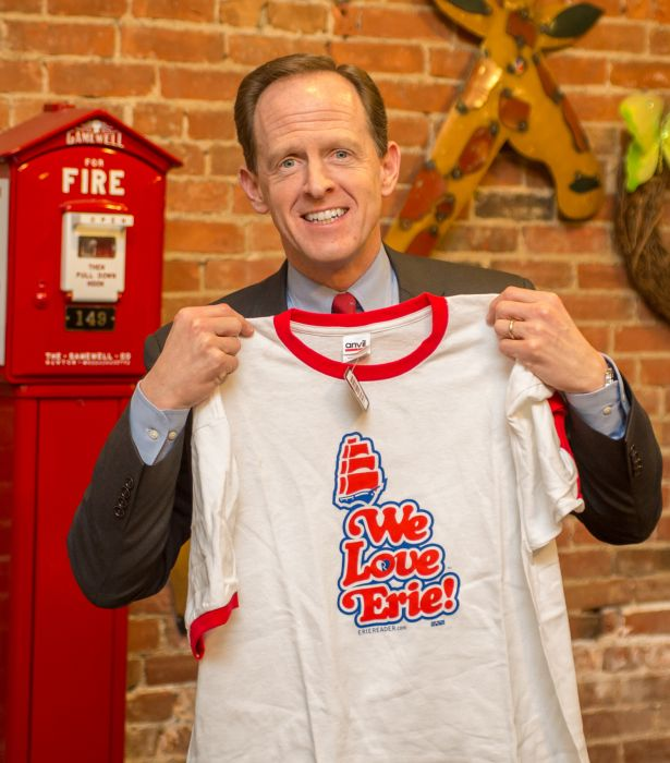 Q & A with Senator Pat Toomey by Cory Vaillancourt